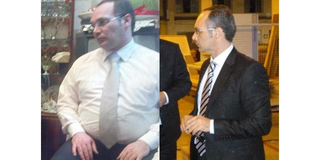 Öncesi (120kg) ve Sonrası (75 kg) – Fahri Agayev