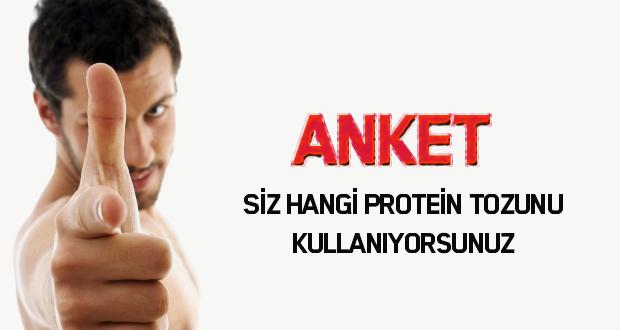 Hangi protein tozu 'nu tercih ediyorsunuz ?