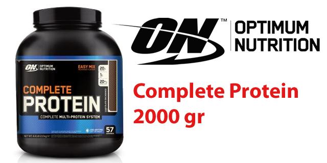Optimum Complete Protein Tozu 2000 gr.