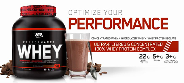 Optimum Performance Whey 1950 gr Protein Tozu