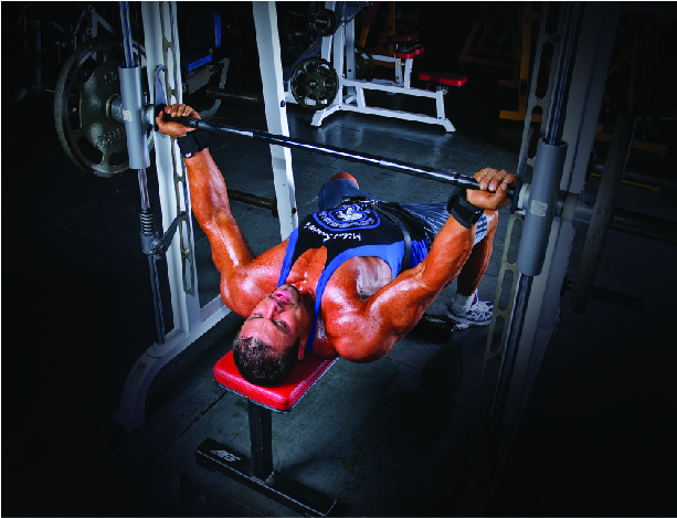 Ters Tutuş Smith-Machine Bench Press