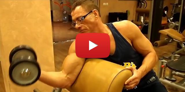 Jean-Claude Van Damme – Antrenman Videosu