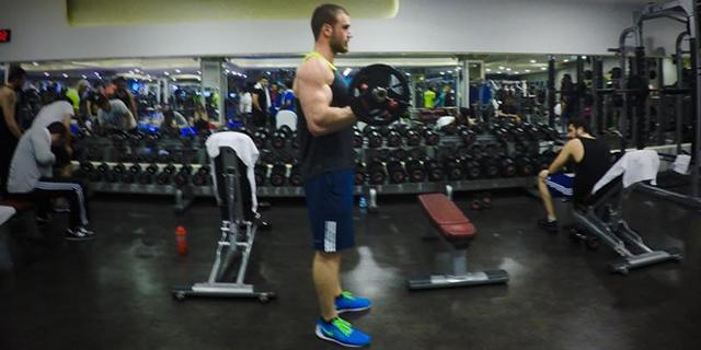 En Temel Biceps Geliştirici: Barbell Curl