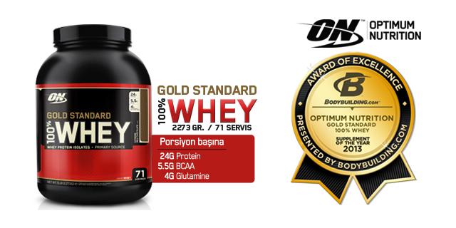 Optimum Gold Standard %100 Whey Protein Tozu