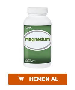 gnc magnesium 120 kapsül