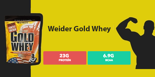 Ürün İnceleme: Weider Gold Whey Protein Tozu