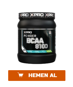 xpro bcaa 8100 powder